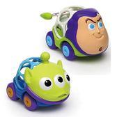 Kids II Oball Disney 巴斯光年/三眼怪限量版2入小車 玩具總動員