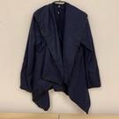 韓版百搭基本款修身長版大衣風衣(M號/121-4538)