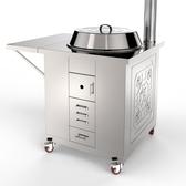 新款不鏽鋼家用柴火爐室內多功能無煙可移動省柴土爐戶外爐爐 【快速出貨】