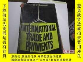 二手書博民逛書店international罕見trade and payment