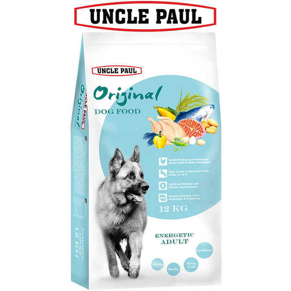 【UNCLE PAUL】保羅叔叔田園生機狗食 12kg(高能成犬)