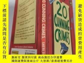 二手書博民逛書店20罕見cunning crimes 20個狡猾的罪行.Y200392