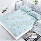 【限時下殺89折】床包 床包磨毛席夢思床罩保潔墊防塵罩床墊罩單件床套雙人單人防滑床單