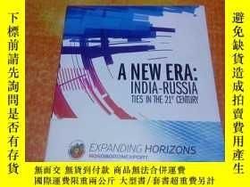 二手書博民逛書店A罕見NEW ERA; INDIA - RUSSIA TIES