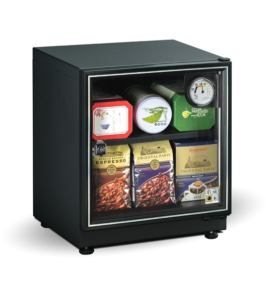 收藏家 全新升級 AD-45P 暢銷經典防潮箱 32公升 砂紋烤漆 可食品保存【保固5年】