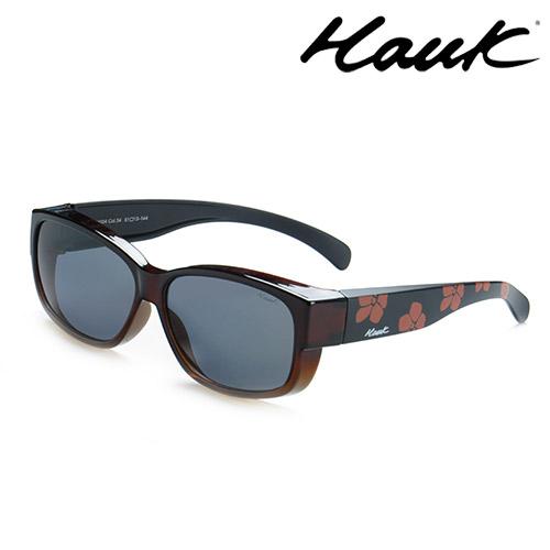 HAWK偏光太陽套鏡(眼鏡族專用)HK1004-54
