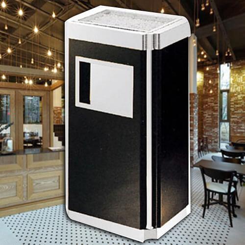 【企隆 圍欄 飯店用品】烤黑漆桶/G13S 垃圾桶/菸灰缸/煙灰/置物