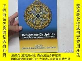 二手書博民逛書店小16開英文原版《Designs罕見for Disciplines:An introduction to Acad