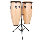 LP康加鼓A646-AW(10+11)Aspire® Wood Conga Sets原木黑框Y架