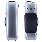JYC Music JV-4002N銀色刷線-4/4小提琴四方盒-防水譜袋款/原廠公司貨