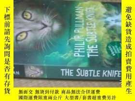 二手書博民逛書店philip罕見pullman the subtle knife