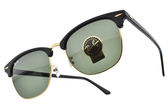 RayBan 太陽眼鏡 RB3016F W0365 (黑-金) 時尚新寵經典款 眉框眼鏡 # 金橘眼鏡