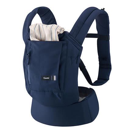 Combi 康貝 Join 舒適減壓腰帶式背巾-海軍藍【佳兒園婦幼館】