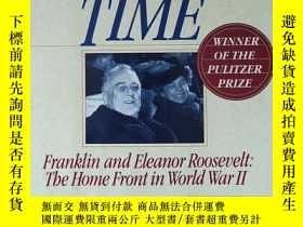 二手書博民逛書店英文原版書罕見No Ordinary Time: Franklin and Eleanor Roosevelt: