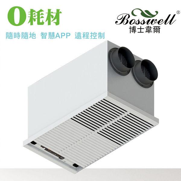 BOSSWELL博士韋爾吸頂式空氣清淨機C-1501WIFI電離式集塵(不含安裝)