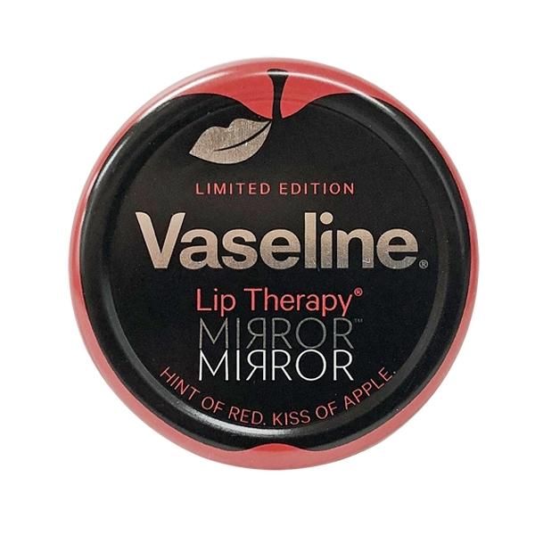 歐洲版 Vaseline 小圓罐造型護唇膏 Mirror Mirror 紅吻蘋果款 20g 限量收藏版包裝