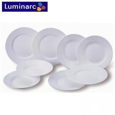 『Luminarc』☆法國樂美雅強化餐具8件組*2組  ,SP-1402 **免運費**