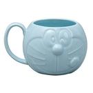 【震撼精品百貨】Doraemon_哆啦A夢~DORAEMON 造型陶瓷馬克杯(淡藍色)#42972