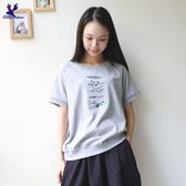 American Bluedeer-刺繡短T(魅力價) 春夏新款