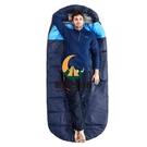 睡袋成人戶外旅行冬季加厚四季通用防寒保暖午休露營雙人單人隔臟棉睡1.6KG【創世紀生活館】