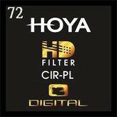 【聖影數位】HOYA HD MC CIR-PL 72mm 超高硬度廣角薄框多層鍍膜環型偏光鏡