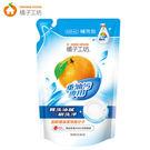 橘子工坊重油汙碗盤洗滌液補充包430ml...