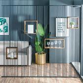 工業風鐵藝隔斷屏風辦公室客廳酒吧餐廳創意裝飾鏤空鐵網隔斷牆ATF