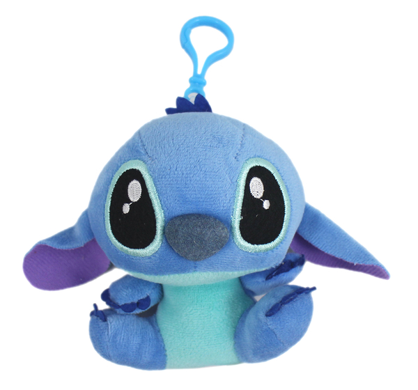 【卡漫城】 史迪奇 玩偶 吊飾 11cm 庫1  絨毛 掛飾 裝飾品 星際寶貝 Stitch 扣環 外星人 卡通 布偶