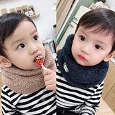 兒童圍脖 嬰兒冬季兒童加絨圍巾韓版寶寶加厚毛絨圍脖男女童保暖脖套秋冬潮 瑪麗蘇