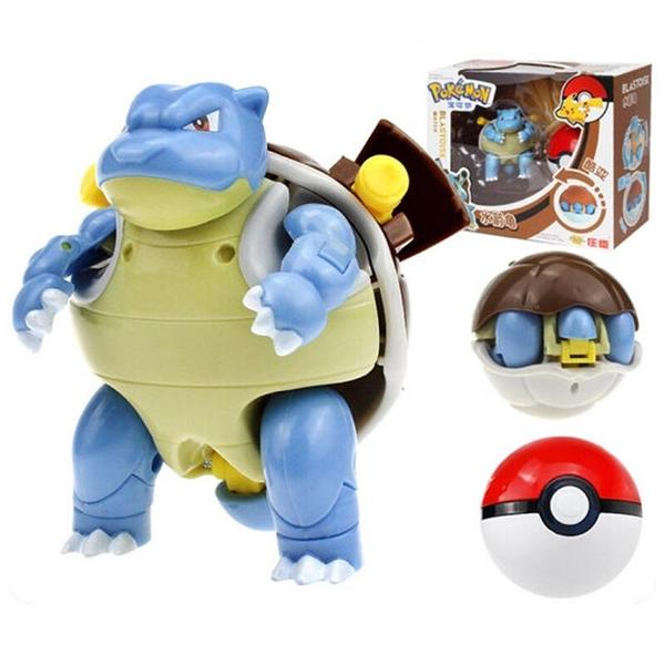 Pokemon 寶可夢 神奇寶貝 變形球 水箭龜