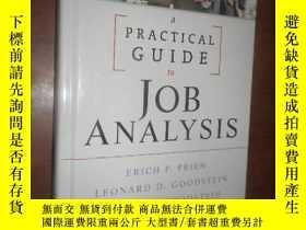 二手書博民逛書店A罕見Practical Guide to Job Analys