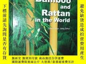 二手書博民逛書店世界竹藤罕見英文 Bamboo and Rattan in th