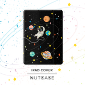 星球宇航員新款iPad 9.7寸保護套mini4 Air2原創pro10.5休眠皮套