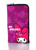 出清價 Hello Kitty SMS-301 仕女型多層式手機袋美樂蒂-愛心