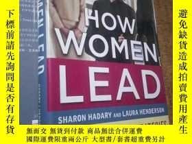 二手書博民逛書店How罕見Women Lead: The 8 Essential Strategies Successful Wo