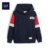 Gap男童 舒適長袖休閒上衣 511587-墨青