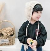 連帽T恤男童連帽T恤男孩長袖1-3-5歲兒童韓版連帽上衣寶寶潮衣 育心小館