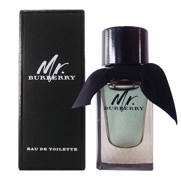 BURBERRY Mr. BURBERRY 男性淡香水 5ml 小香【娜娜香水美妝】