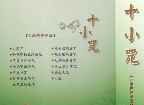 台語佛經課誦17 十小咒 CD (音樂影片購)