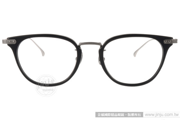 NINE ACCORD 光學眼鏡 UNION UB C03 (霧黑-銀) β鈦金屬系列簡約款 # 金橘眼鏡
