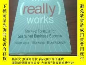 二手書博民逛書店What罕見really works the 4+2 formu