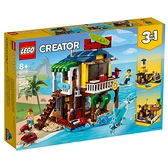 LEGO樂高 Creator 創意大師系列 衝浪手海灘小屋_LG31118