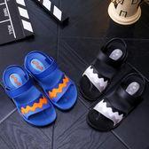 夏季男童涼鞋夏季沙灘2018新款中大童學生款 JA1221 『時尚玩家』