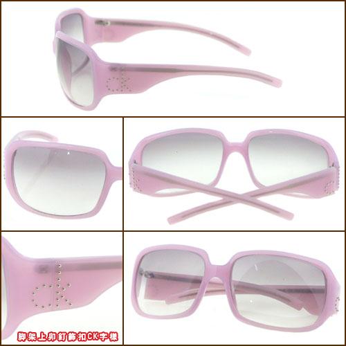 Calvin Klein時尚太陽眼鏡(粉紫色) CK3041S-234 (無盒)