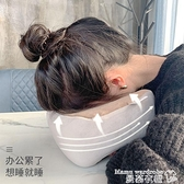 按摩器 U型枕頭多功能電動肩頸椎脖子頸部家用頸肩頸椎按摩器車載護頸儀 曼慕