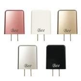 [富廉網]【Bee】2.4A 雙USB AC充電器 VC861
