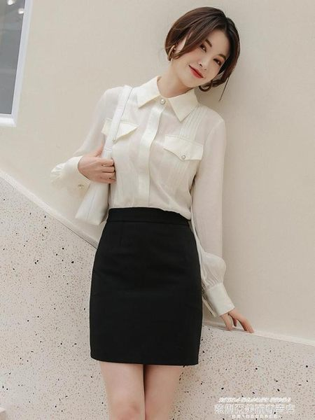 短裙春夏職業裙半身裙女一步裙包臀短裙包裙西裝裙工作裙西裙正裝裙子 萊俐亞