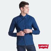 Levis 男款 格紋襯衫 / 四分一拼接款