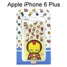 復仇者聯盟Q版透明軟殼 [鋼鐵人] iPhone 6 Plus / 6S Plus (5.5吋)【正版授權】