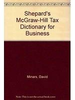 二手書博民逛書店《Shepard s McGraw-Hill Tax Dicti